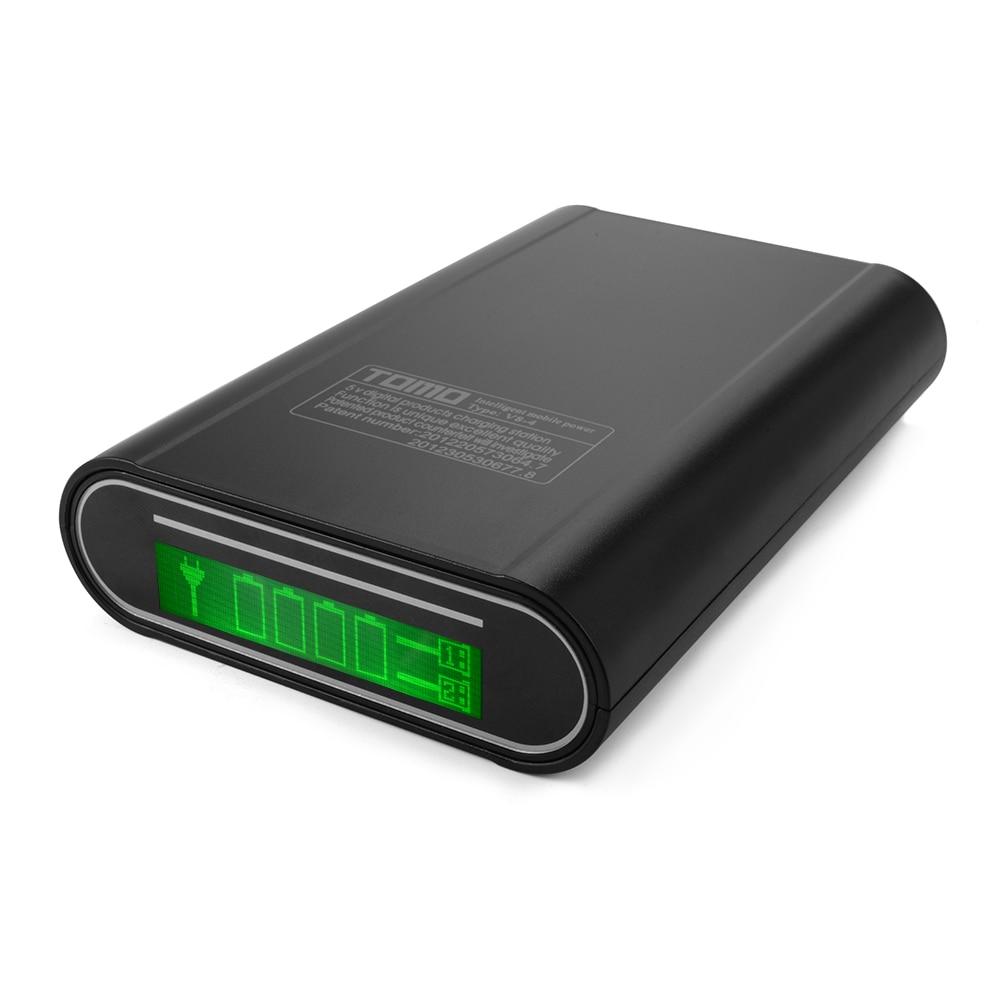 Multipurpose Batteries & Power LCD Display 4 Slot 18650 Battery ...