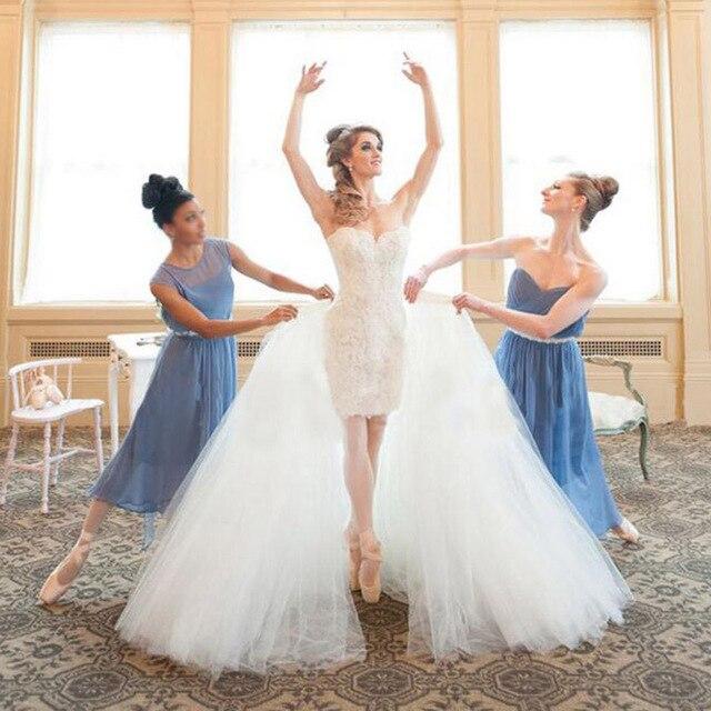 Luxury Famous Design Kleinfeld Wedding Dress 2017 Two Pieces
