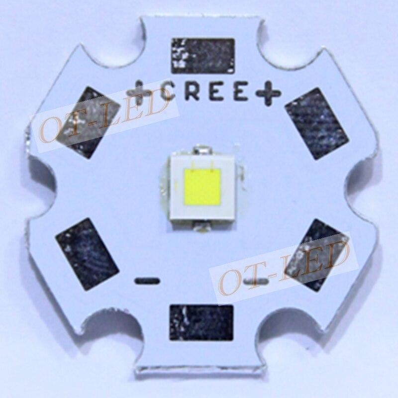 Original CREE XPL HI led 10W V6 1A 6000K LED Emitter XP-L HI 3535 led chip Cool White High Power LED lamp 1100LM 2pcs cree xpl hi led 10w v6 1a 6000k led emitter xp l hi 3535 led chip cool white high power led lamp with 20 16 14 12 8mm pcb