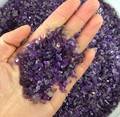 4---6mm Natural Mini Round Amethyst Crystal Stone Rock Specimen Gravel Healing 1000g