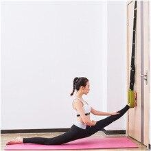 Thwart Split Flexibility Stretching Leg Stretcher Strap Back Bend Ballet Cheer Dance Gymnastics Trainer Yoga Stretch Yoga Belt