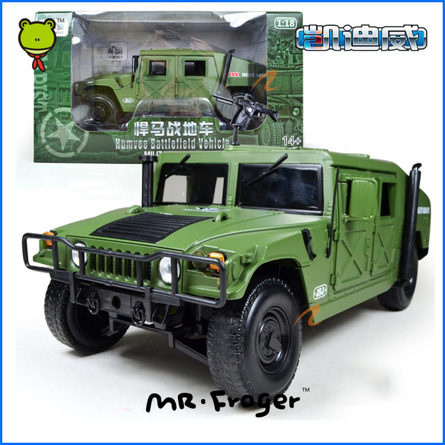 Mr.Froger Humvee Battlefield Vehicle Military Model alloy car militarist Refined metal US military vehicles field show car model