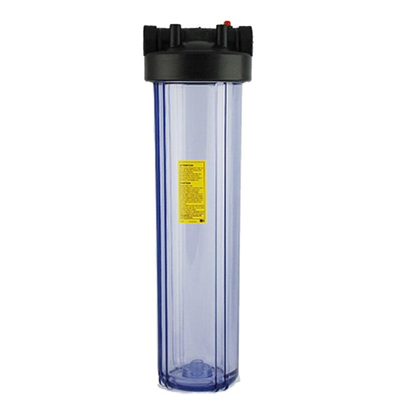 """Coronwater 20 """"большой прозрачный корпус фильтра для воды для очистителя воды"""