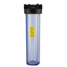 20 Big Clear Water Filter Housing for Water Purifier