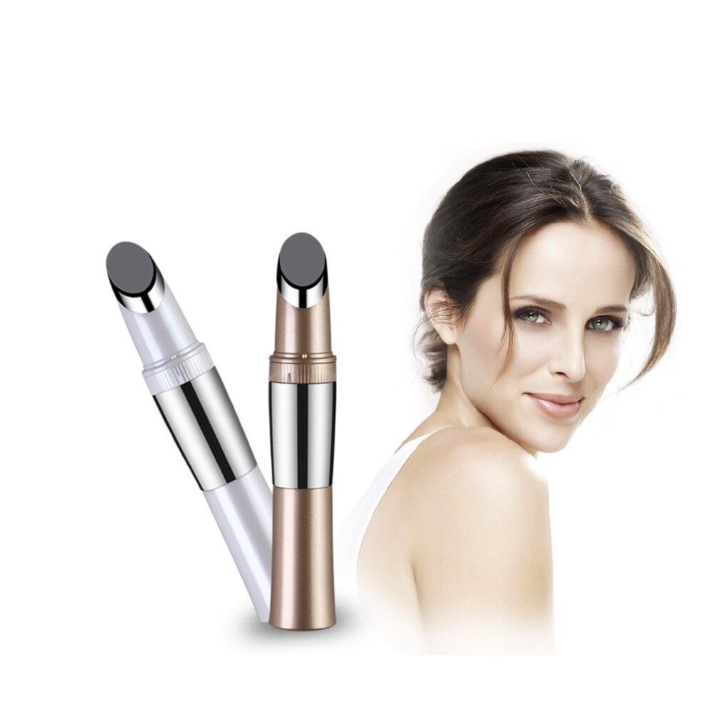 micro vibration heating Eye Wrinkle Removing Care anti-wrinkle facial massager Black Eye Beauty Pen dark circles Iontophoresis