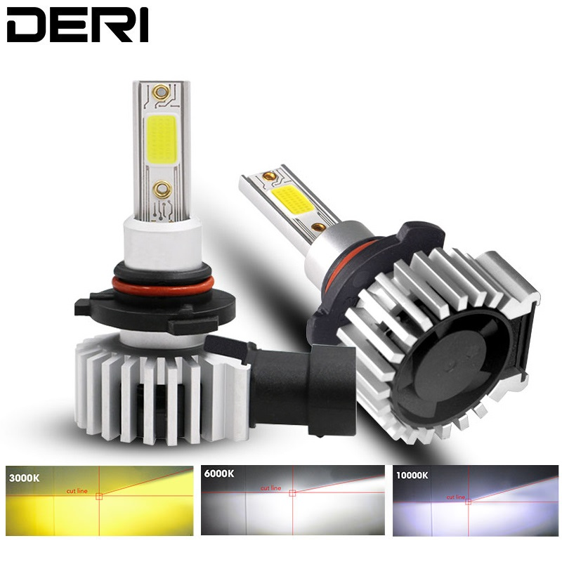 New 72W <font><b>Led</b></font> car Headlight H1 H11 H3 H7 <font><b>H4</b></font> 9005 9006 880 COB 12V 24V 4000LM 3000K 6000K <font><b>10000K</b></font> mini Auto D9 Lamp Styling image