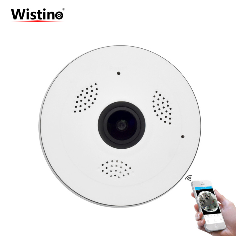 HD 960P Wireless VR Panoramic Camera 360 Degree WIFI IP Camera Fisheye CCTV Video Baby Monitor Surveillance Camera Night Vision