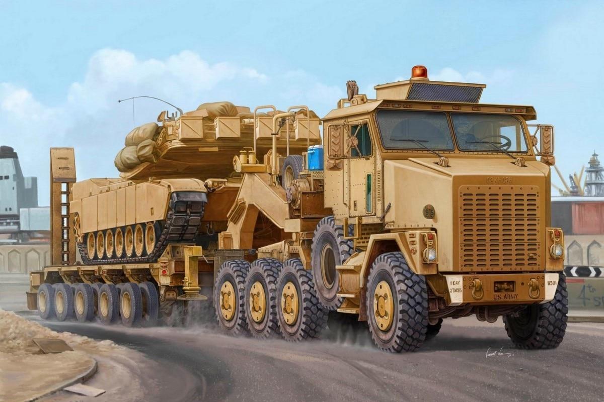 M1070 HET Maschinentransporter 8x8 traktor lkw QX230 wohnzimmer home ...