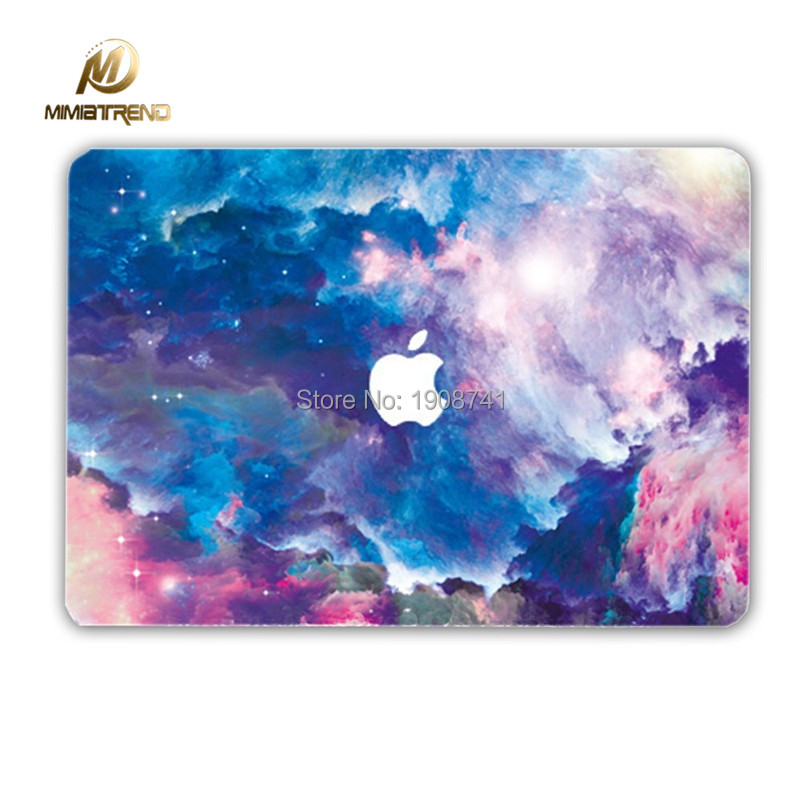 Mimiatrend Marble Grain Full Cover Laptop Decal Sticker Case For Apple Macbook Air Pro 11 13
