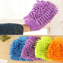 Super Microfiber Car Wash Gloves Washing Cleaning Anti Scratch car washer Household care brush
