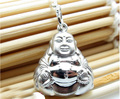 Pure 925 Sterling Silver Buddha Pendant