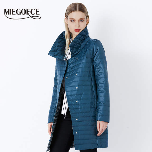 421e3bb9014 placeholder MIEGOFCE 2018 New Spring Jacket Parka Women Winter Coat Women s  Warm Outwear Thin Cotton-Padded