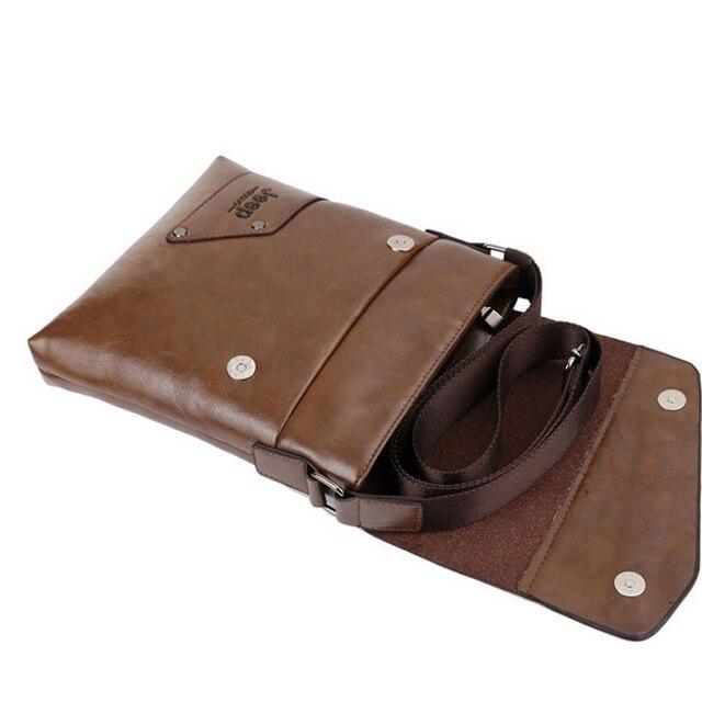 Men messenger bags top leather bag briefcase designer high quality shoulder bag 2