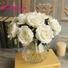 Miiсезонные цветы на День святого Валентина, 1 шт., свежие искусственные розы, искусственные цветы пионы из шелка, Цветочный декор для свадьбы, свадьбы, дома, дня рождения