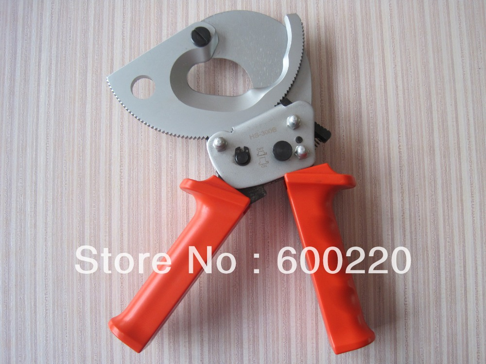 Ratcheting ratchet cable cutter HS-300B for cutting max 300mm2 Cu/Al cable cut toolRatcheting ratchet cable cutter HS-300B for cutting max 300mm2 Cu/Al cable cut tool