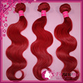 Red Brazilian Hair Body Wave Nice bundles  3 Pcs /Lot 100g/Pieces Human Hair Weft red  best selling products aliexpress hair