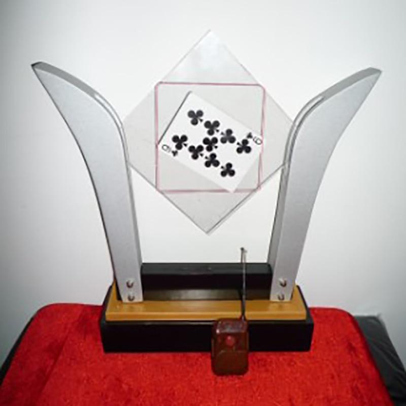 TV Card Frame Remote control Deluxe card into glass Magic tricks magic props обучение фокусам card magic