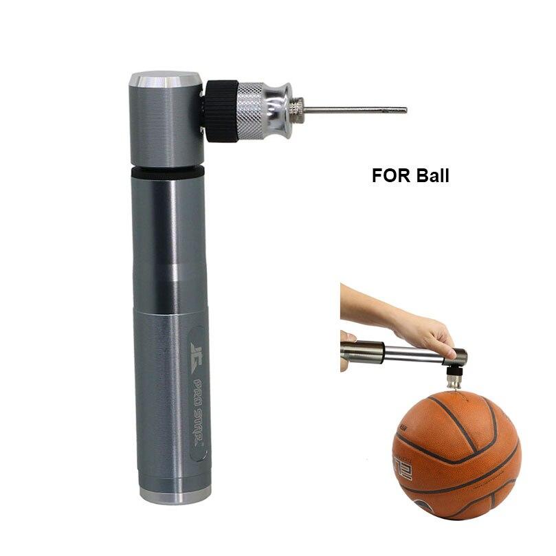 Basketball High Pressure Mini Bicycle Pump Ball Tire Inflator MTB Bike