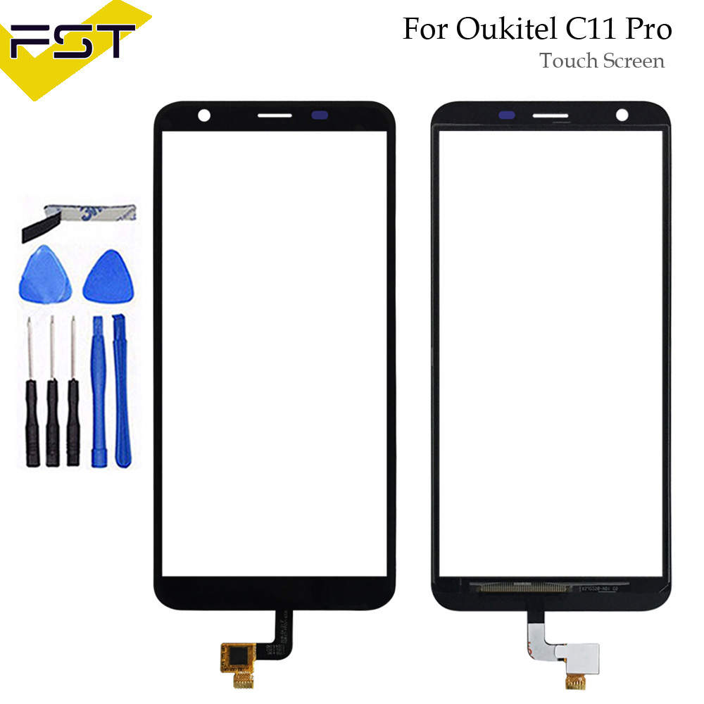 For Oukitel C11 Pro Touch Screen Digitizer Sensor Touch Panel Assembly Replacement For Oukitel C11 Pro Phone With Tools 5.5For Oukitel C11 Pro Touch Screen Digitizer Sensor Touch Panel Assembly Replacement For Oukitel C11 Pro Phone With Tools 5.5