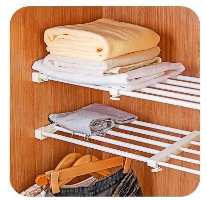 30 cm dapur kamar mandi adjustable pemegang penyimpanan pakaian kabinet gantung rak underslung gratis menginstal tunggal