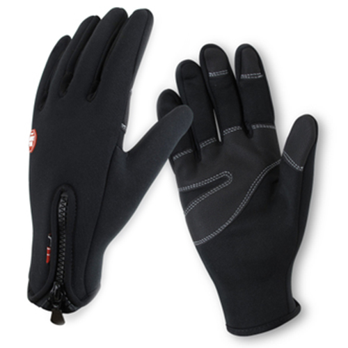 Outdoor Sports Gloves, Touchscreen Compatible, Warm Windproof Bicycle Gloves Ski Gloves for Skiing, Cycling Winter M