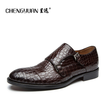 CHENGYUAN font b Men s b font Bullock Noble top quality leather font b shoes b