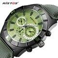 2016 Luxury Brand Ristos G Date Shock Quartz Watch Men Casual Military Sports Watches Leather Wrist Watch Male Relogio Masculino