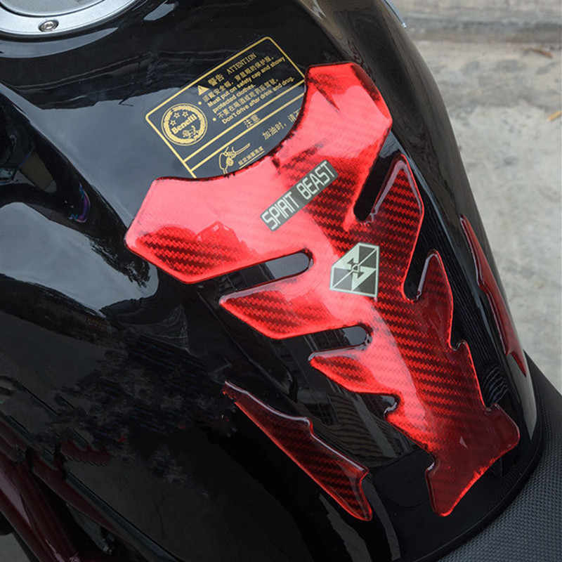 Newbee ثلاثية الأبعاد الأحمر للدراجات النارية ملصق خزان الوقود الغاز وسادة واقية غطاء دراجة نارية مائي ل KTM ياماها هوندا كاواساكي BMW موتو