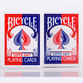 1 PCS Bicycle Super Gaff V2 (blue & red) 15 Edition Playing Cards Magic Tricks 81234