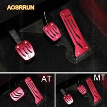 AOSRRUN non hanno bisogno di pugno In Lega di Alluminio pedale Dell'acceleratore pedale del Freno Pedali Pedale Del Gas Per Mazda CX-2014 CX5 2015
