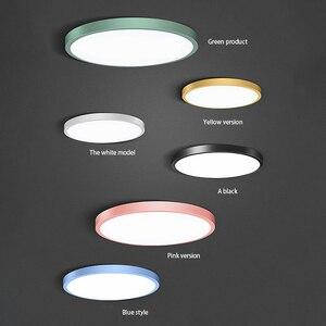 Image 3 - 30W โคมไฟเพดาน LED Flush Mount โคมไฟเพดาน 30 วัตต์ 6000K Cool สีขาวโคมไฟห้องครัวห้องโถงห้องน้ำ