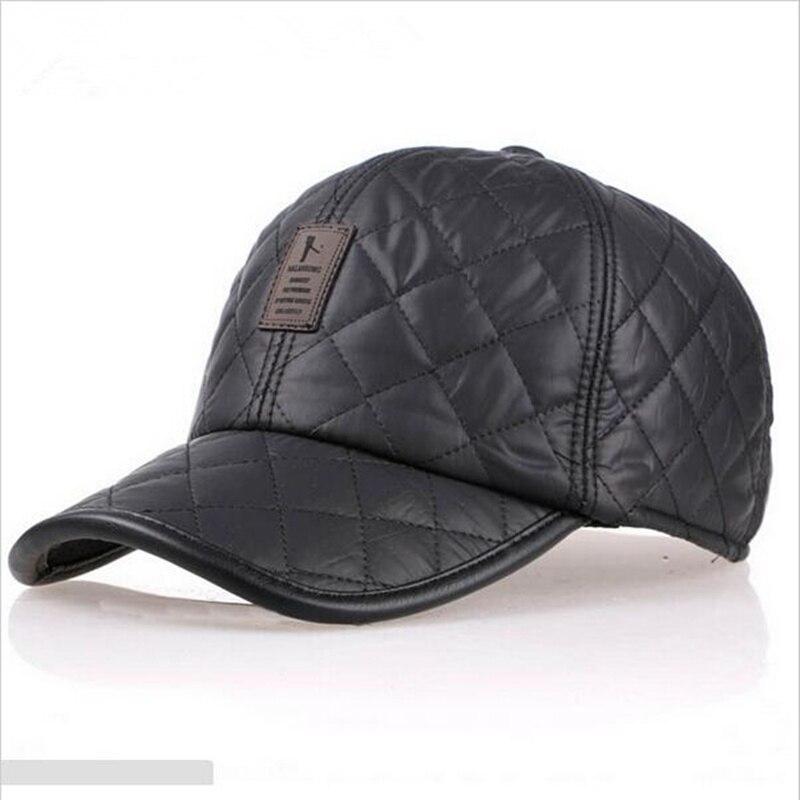 VORON High quality   baseball     cap   men autumn winter Fashion   Caps   waterproof fabric Hats Thick warm earmuffs   baseball     cap   4 colors