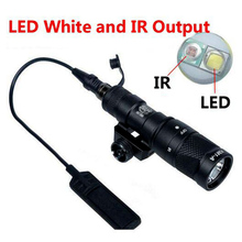 SF M300V IR Scout Light Weapon White And LED Flashlight Constant Momentary Output 20mm Rail for hunting