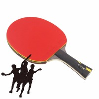 Original STIGA Hybrid Wood 9 8 Table Tennis Rackets Finished Pingpong Rackets Two Pimples In Rubbers