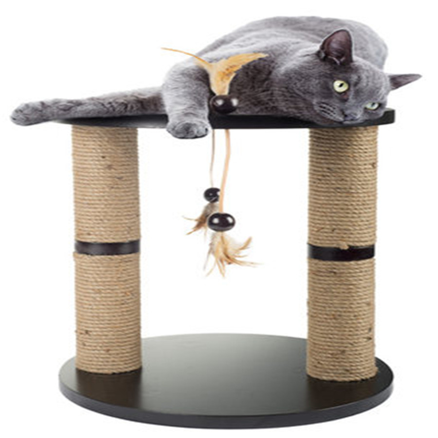 Wood Pets Tree Cat Climbing Frames Toys Interactive Gatos Interesting Pet Supplies Cute Stuffed Products For Kittens DDMYX86