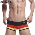 Мужчины Сексуальная Боксер Underwear-Мода Малоэтажное Хлопок Боксеры (Размер: Sml XL)