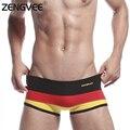 Hombres sexy underwear boxer-fashion low rise calzoncillos de algodón (tamaño: sml xl)