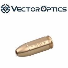 Векторная оптика 9 мм латунный Картридж красный лазерный прицел коллиматор BoreSighter