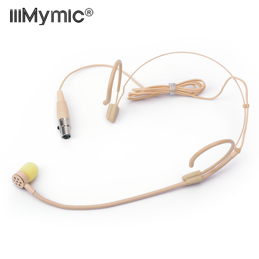 2019 New Style Free Shipping Skin Colour Mini Xlr Ta4f 4pin Connector Plug Lavalier Lapel Microphone For Shure Wireless Bodypack Transmitter Microphones