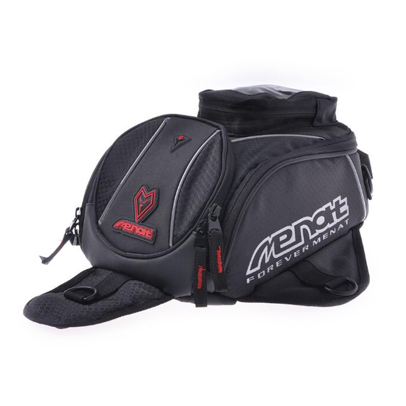 High Quality Universal Black Motorcycle Oil Fuel Tank Bag Magnetic Motorbike Riding Bag Long Distance Travel Luggage Waterproof