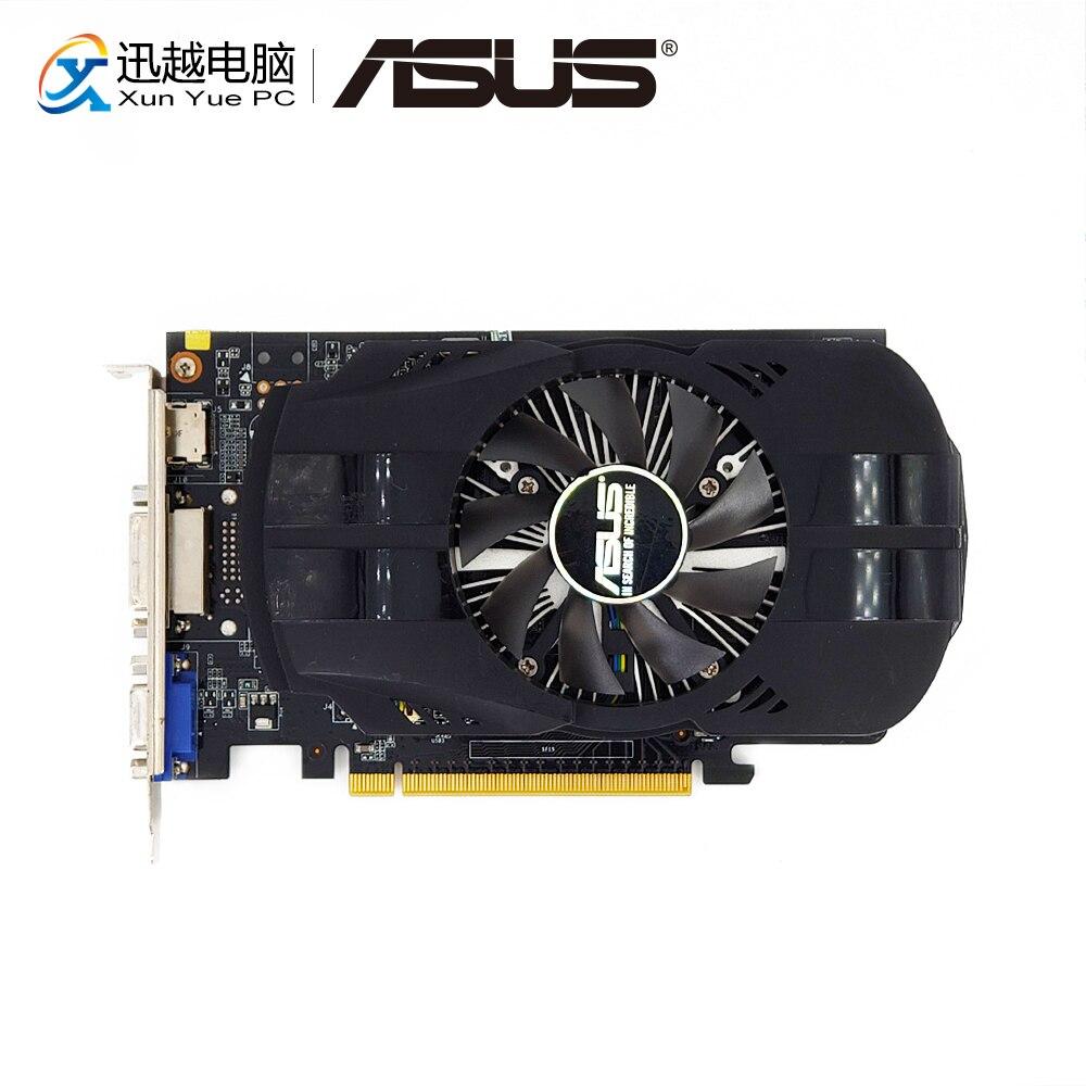 ASUS GTX750TI-FML-OC-2GD5 gráficos originales tarjetas 128 poco GTX 750 TI 2G GDDR5 tarjeta de Video VGA DVI HDMI 1072 MHz ~ 1150 MHz GTX750TI