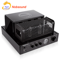 New Nobsound MS 30D Hifi Bluetooth Tube Amplifier 25W 25W 110V 220V Support Usb Power Amplifier