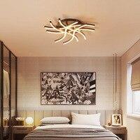 KM und zeitgenössische schlafzimmer led leuchten Nordic wohnzimmer schlafzimmer studie restaurant haushalt führte zu absorbieren dome licht-in Deckenleuchten aus Licht & Beleuchtung bei