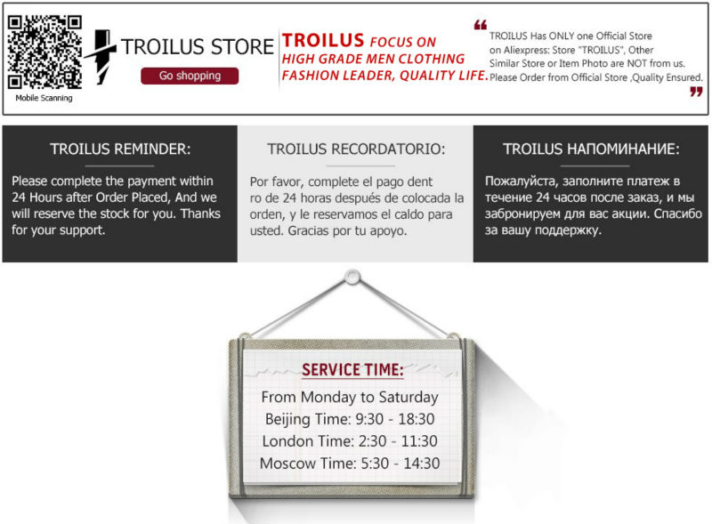 men clothing-troilus