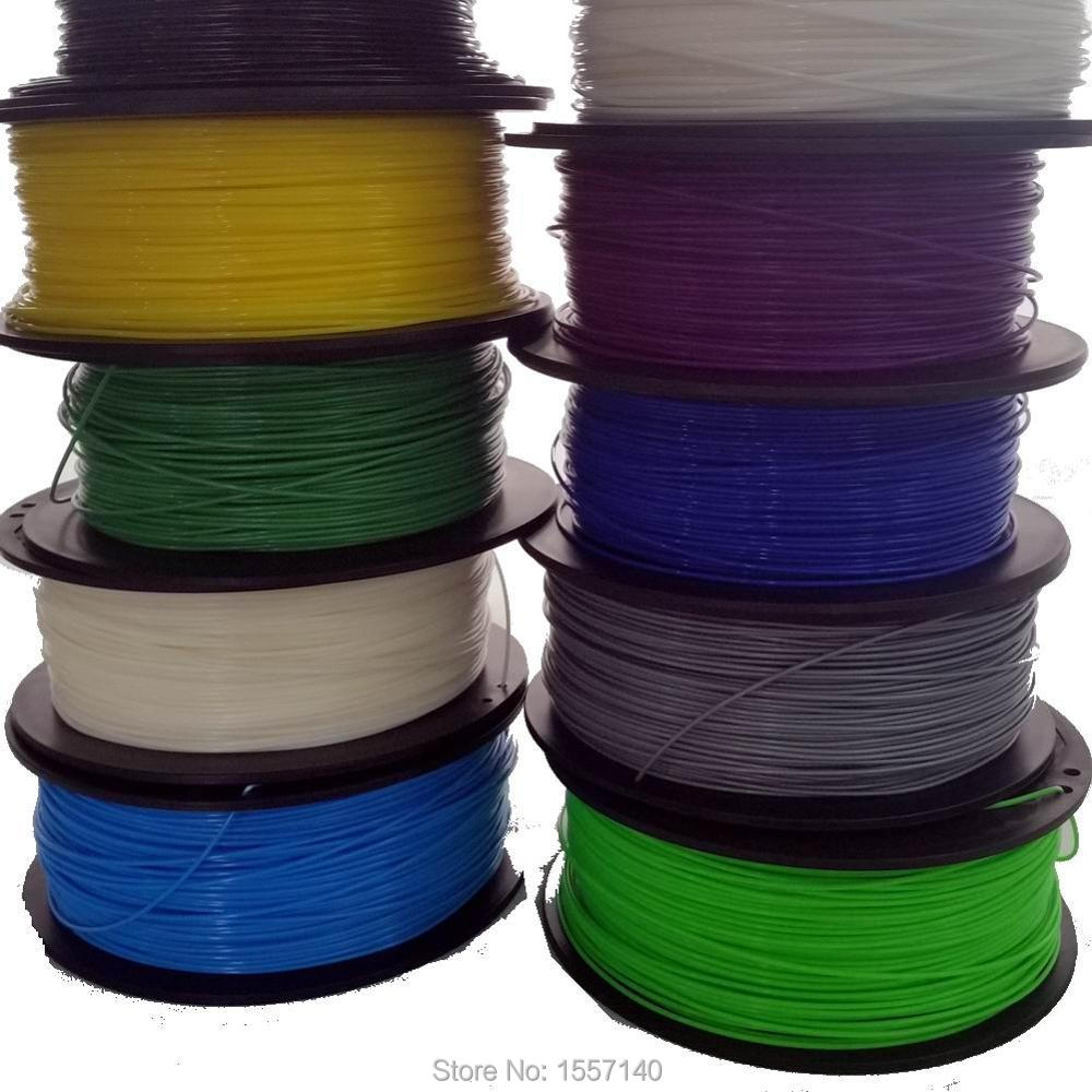 20 Colors 1KG 3D Filament PLA 1.75mm 3D Printing Materials For 3D Pen 3D Printer 3d printer filament 50m 5 colors 10m color abs pla 1 75mm 3d filament printing materials for 3d printing pen 3d printer