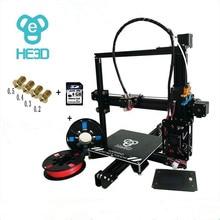 200*200*200mm autoleveling Aluminium Extrusion 3d-drucker kit prusa EI3 Drucker mit 2 rolls filament + 8 GB SD karte als geschenk