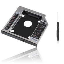 Bevigac 2nd 2.5 بوصة 12.7 مللي متر ل DVD CD ROM HP ديل أيسر BenQ ASUS لينوفو HDD SSD قرص صلب العلبة محول SATA إلى SATA
