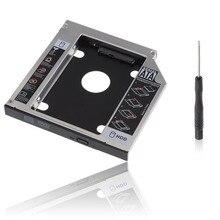 Bevigac 2nd 2.5Inch 12.7 Mm Cho DVD CD ROM HP Dell Acer BenQ ASUS Lenovo Hdd Ssd Đĩa caddy Ốp Lưng Adapter SATA Sang SATA