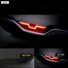 Светодиодный задний бампер HOTTOP для toyota chr-18, лампа дальнего света+ стоп-сигнал+ задний фонарь, 3 функции, сигнальная лампа