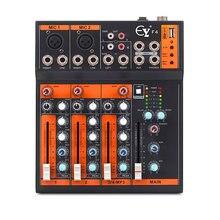 Finlemho dj микшер аудио usb консоль f4 Профессиональный для